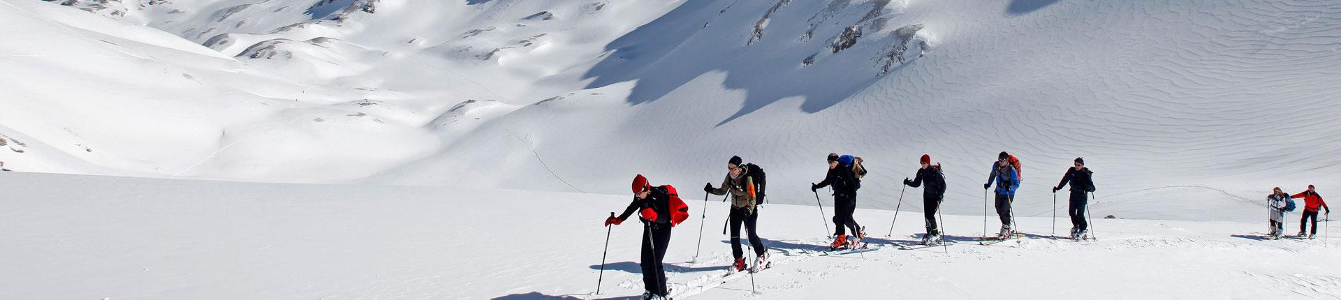 Skitouren gehen im Winterurlaub