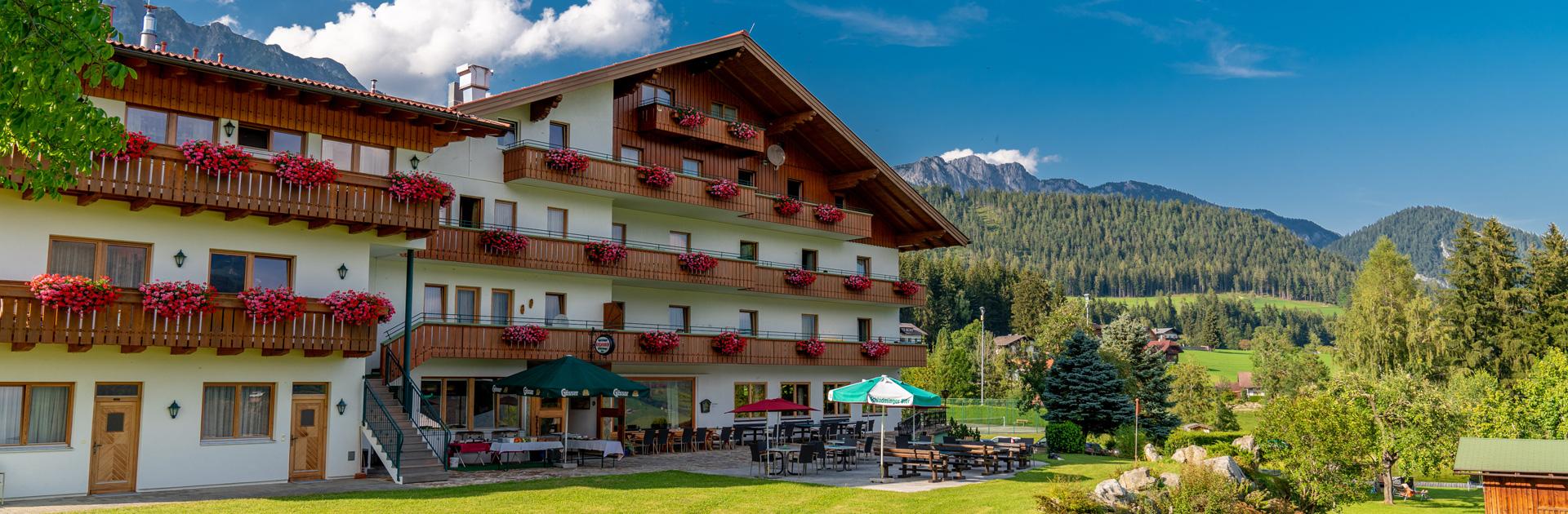 Terrasse Hotel Kielhuberhof