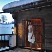 Kielhuberhof Blockholzsaunahütte