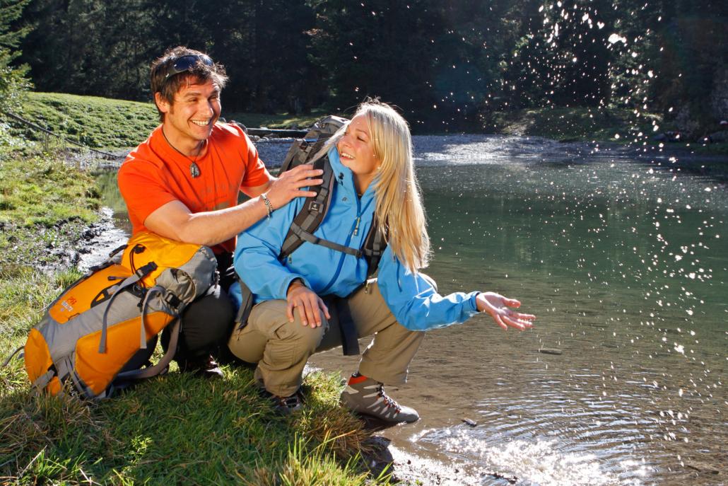 Wandern am Wasser in Schladming Dachstein