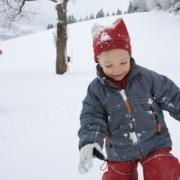 Spaß im Schnee Familienurlaug Hotel Kielhuberhof