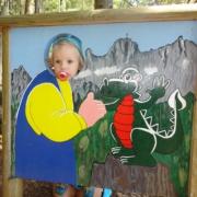 Sattelberghütte Kinderspielplatz Familienurlaub