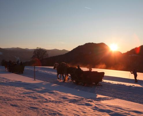 Winterstimmung im Winterurlaub Ramsau am Dachstein
