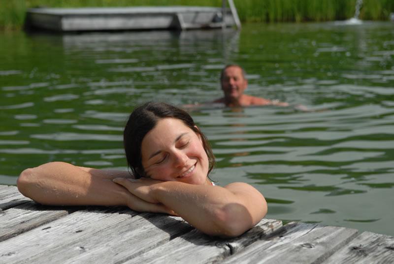 Schwimmteich Hotel Kielhuberhof