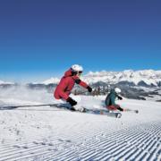 Alpin Skilauf Schladming Dachstein