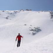 Gletscher-Ueberquerung im Winterurlaub