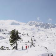 Gletscher-Ueberquerung