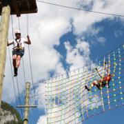 Abenteuerpark im Sommerurlaub