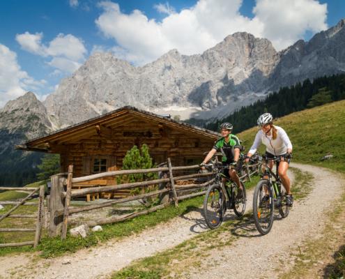 Mountainbiken im Sommerurlaub